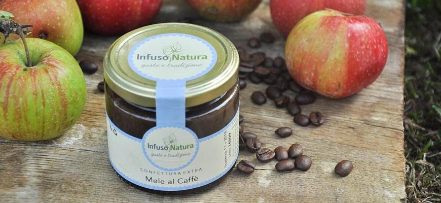 Confettura extra di mele al caffè